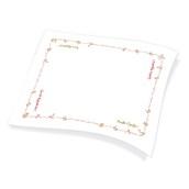1100791324 Χάρτινο Τραπεζομάντηλο Εστιατορίου, 100x130 cm, 3φυλλο, σχέδιο καλή όρεξη, ENDLESS