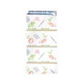 50.01.01-10x26/GR Σακούλα Αλουμινίου Σχέδιο Grill 10x26cm