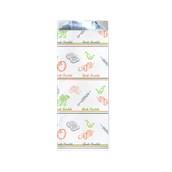 50.01.01-12x26/GR Σακούλα Αλουμινίου Σχέδιο Grill 12x26cm