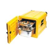 AVA-400 /Y Ισοθερμικό Κουτί GN1/1, με Μεντεσέ, 52 λίτρων, 120-145 μερίδων, κίτρινο