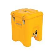 AVA-WATERBOX-Τ /Y Ισοθερμικό Κουτί με Ανοξείδωτο Υδροδοχείο Ζεστών ή Κρύων Ροφημάτων, 23  λίτρων, κίτρινο