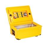AVA-100 /Y Ισοθερμικό Κουτί GN1/1, 17 λίτρων, 50-70 μερίδων, κίτρινο
