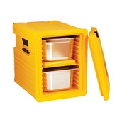 AVA-600 /Y Ισοθερμικό Κουτί GN1/1, 86 λίτρων, 240-290 μερίδων, κίτρινο