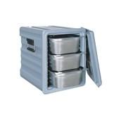 AVA-601 /G Ισοθερμικό Κουτί για GN1/1, 83 λίτρων, 240-290 μερίδων, γκρι