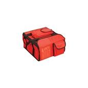 AV-13 Τσάντα Θερμός μεταφοράς Pizza, 35x35x20 cm, κόκκινη