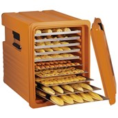 AVA-660 /BR Thermobox για Σφολιατοειδή-Γλυκά, 140 λίτρων, 10 Ραφιών, καφέ