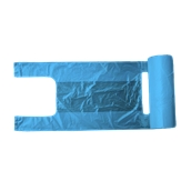 PSR/B-50/200 Ρολό 200 Σακούλεs / Τσάντες Φανελάκι 28+16 X 50cm Μπλε