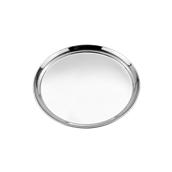 52039 Στρογγυλός Δίσκος Σερβιρίσματος Φ30,5cm, Ανοξείδωτος