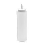 M-03016/CLEAR Πλαστικό Μπουκάλι Σάλτσας 72cl, 24oz, Διάφανο