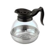 23959 Πολυκαρβονική Κανάτα Καφέ 1,8 lt με Ανοξείδωτη βάση 18/10 και Πλαστικό Καπάκι