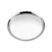 52139 Στρογγυλός Δίσκος Σερβιρίσματος Φ35,5cm, Ανοξείδωτος