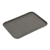 MPE-1520 Αντιολισθιτικός Δίσκος 50x37,5cm, PP, Καφέ