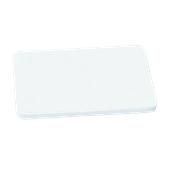000.Π10/WH Άσπρη Πλάκα Κοπής Πολυαιθυλενίου 60x40x1 cm