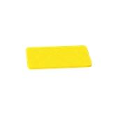 000.0Π1/YE Κίτρινη Πλάκα Κοπής Πολυαιθυλενίου 33x18x1 cm