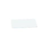 000.0Π1/WH Άσπρη Πλάκα Κοπής Πολυαιθυλενίου 33x18x1 cm