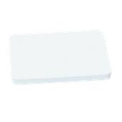 000.Π12/WH Άσπρη Πλάκα Κοπής Πολυαιθυλενίου 60x40x2 cm