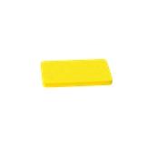 00Π.172/YE Κίτρινη Πλάκα Κοπής Πολυαιθυλενίου 30x15x2 cm