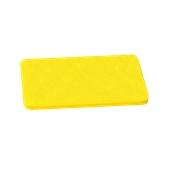 000.0Π7/YE Κίτρινη Πλάκα Κοπής Πολυαιθυλενίου 50x30x1 cm