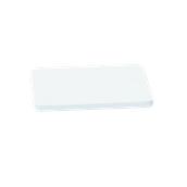 000.0Π6/WH Άσπρη Πλάκα Κοπής Πολυαιθυλενίου 40x24x2 cm