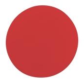 000.Π21/RD Κόκκινη Πλακα Κοπής Πίτσας Πολυαιθυλενίου  στρογγυλή Φ35x1 cm