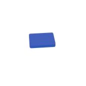 00Π.169/BL Μπλε Πλάκα Κοπής Πολυαιθυλενίου 20x15x2 cm