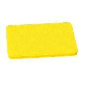 000.Π10/YE Κίτρινη Πλάκα Κοπής Πολυαιθυλενίου 60x40x1 cm