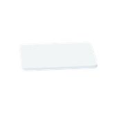 000.0Π5/WH Άσπρη Πλάκα Κοπής Πολυαιθυλενίου 40x24x1,5 cm