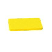 000.0Π6/YE Κίτρινη Πλάκα Κοπής Πολυαιθυλενίου 40x24x2 cm