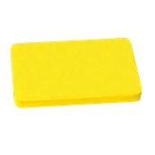 000.Π12/YE Κίτρινη Πλάκα Κοπής Πολυαιθυλενίου 60x40x2 cm