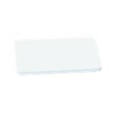 000.0Π8/WH Άσπρη Πλάκα Κοπής Πολυαιθυλενίου 50x30x1,5 cm