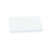 00Π.175/WH Άσπρη Πλάκα Κοπής Πολυαιθυλενίου 40x30x2 cm