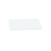 000.0Π4/WH Άσπρη Πλάκα Κοπής Πολυαιθυλενίου 40x24x1 cm