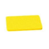 000.0Π8/YE Κίτρινη Πλάκα Κοπής Πολυαιθυλενίου 50x30x1,5 cm
