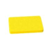 00Π.175/YE Κίτρινη Πλάκα Κοπής Πολυαιθυλενίου 40x30x2 cm