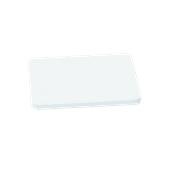 00Π.174/WH Άσπρη Πλάκα Κοπής Πολυαιθυλενίου 40x30x1,5 cm