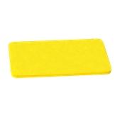 00Π.178/YE Κίτρινη Πλάκα Κοπής Πολυαιθυλενίου 60x30x1 cm