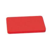 000.0Π9/RD Κόκκινη Πλάκα Κοπής Πολυαιθυλενίου 50x30x2 cm