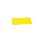 00Π.170/YE Κίτρινη Πλάκα Κοπής Πολυαιθυλενίου 30x15x1 cm