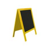 000.Π54/YE Πίνακαs Πολυαιθυλενίου Διπλόs 70 x 113 cm Κίτρινος