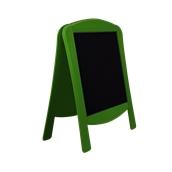 000.071/GN Ξύλινοs Πίνακαs Διπλόs Menu 120 x 75 cm Πράσινο