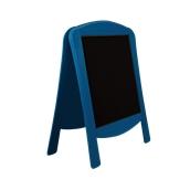 000.071/BL Ξύλινοs Πίνακαs Διπλόs Menu 120 x 75 cm Μπλε