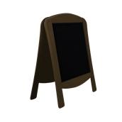 000.071/DK Ξύλινοs Πίνακαs Διπλόs Menu 120 x 75 cm Σκούρο Καφέ