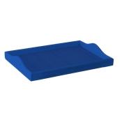 000.082/BL Δίσκοs (Παραμάνα) 35x45cm, Μπλε