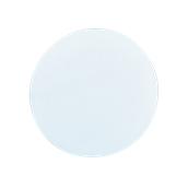 00Π.183/WH Άσπρη Πλακα Κοπής Πίτσας Πολυαιθυλενίου  στρογγυλή Φ30x2 cm