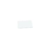 00Π.168/WH Άσπρη Πλάκα Κοπής Πολυαιθυλενίου 20x15x1,5 cm