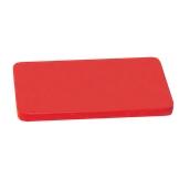 00Π.180/RD Κόκκινη Πλάκα Κοπής Πολυαιθυλενίου 60x30x2 cm