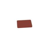00Π.167/BR Καφέ Πλάκα Κοπής Πολυαιθυλενίου 20x15x1 cm