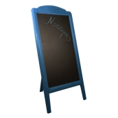 000.072/BL Ξύλινοs Πίνακαs Menu 152 x 77 cm Μπλε