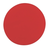00Π.184/RD Κόκκινη Πλακα Κοπής Πίτσας Πολυαιθυλενίου  στρογγυλή Φ35x2 cm
