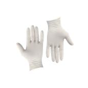 GLV-NP/S Σετ 100τεμ γάντια Λάτεξ χωρίς πούδρα - SMALL